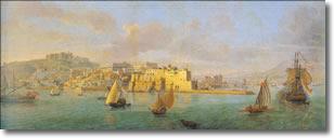 Gaspar van Wittel (1652-1736), Napoli dal mare.