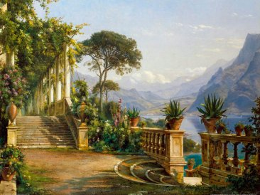 Aagaard_Carl_Frederic_-_Lodge_on_Lake_Como (1)