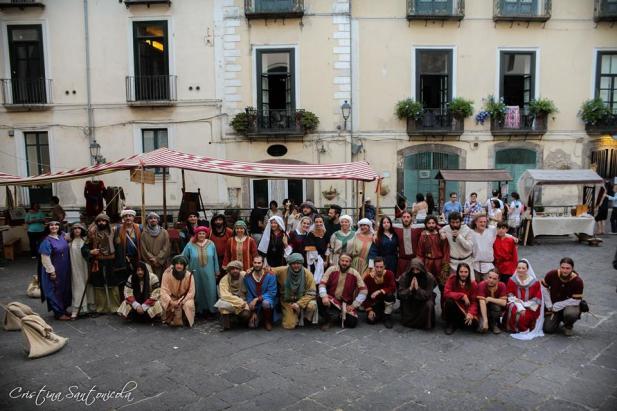 """I gruppi di """"Principatus Salerni"""" al gran completo!"""