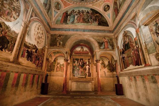 Cappella Bentivoglio in San Giacomo Maggiore a Bologna 1