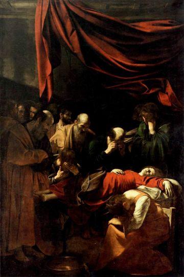 Caravaggio_Morte_della_Vergine