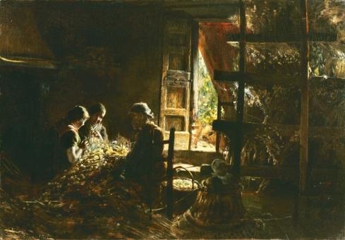 Giovanni-Segantini-La-raccolta-dei-bozzoli-1881-1883-Milano-Collezione-Intesa-Sanpaolo-Gallerie-dItalia-Piazza-Scala