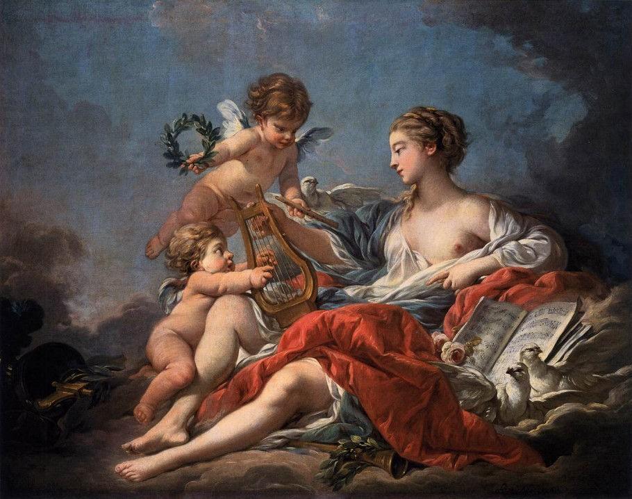 -Pittura-a-olio-françois-boucher-allegoria-della-musica-venere-con-angeli-uccelli-tela-.jpg