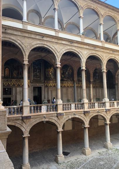 Ingresso Cappella Palatina - Palazzo dei Normanni - Palermo