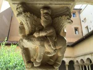 L'angelo ferma Balaam sull'asina
