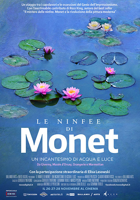 le ninfee di Monet_locandina