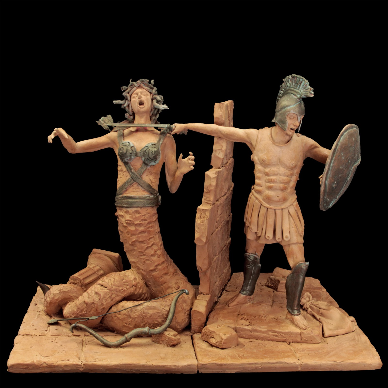 Risultati immagini per Perseo uccide Medusa immagini in jpg